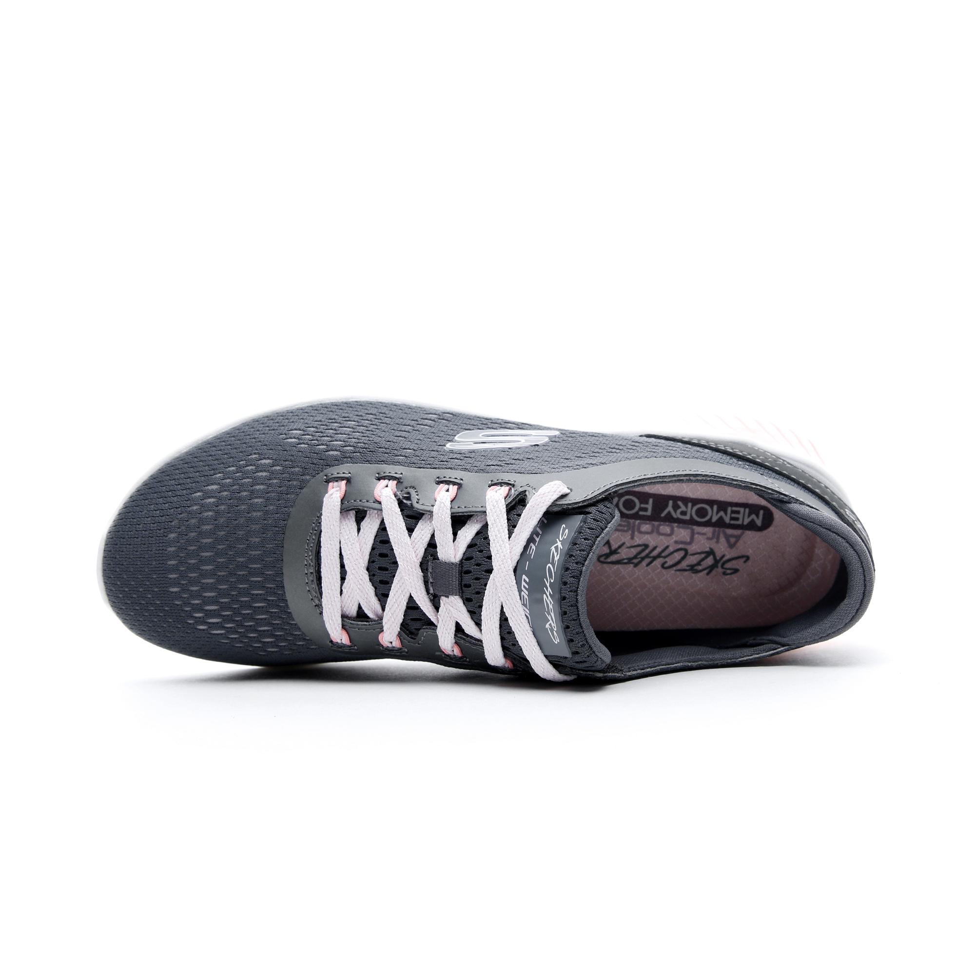 Skechers Skech-Air Ultra Flex Gri Kadın Spor Ayakkabı