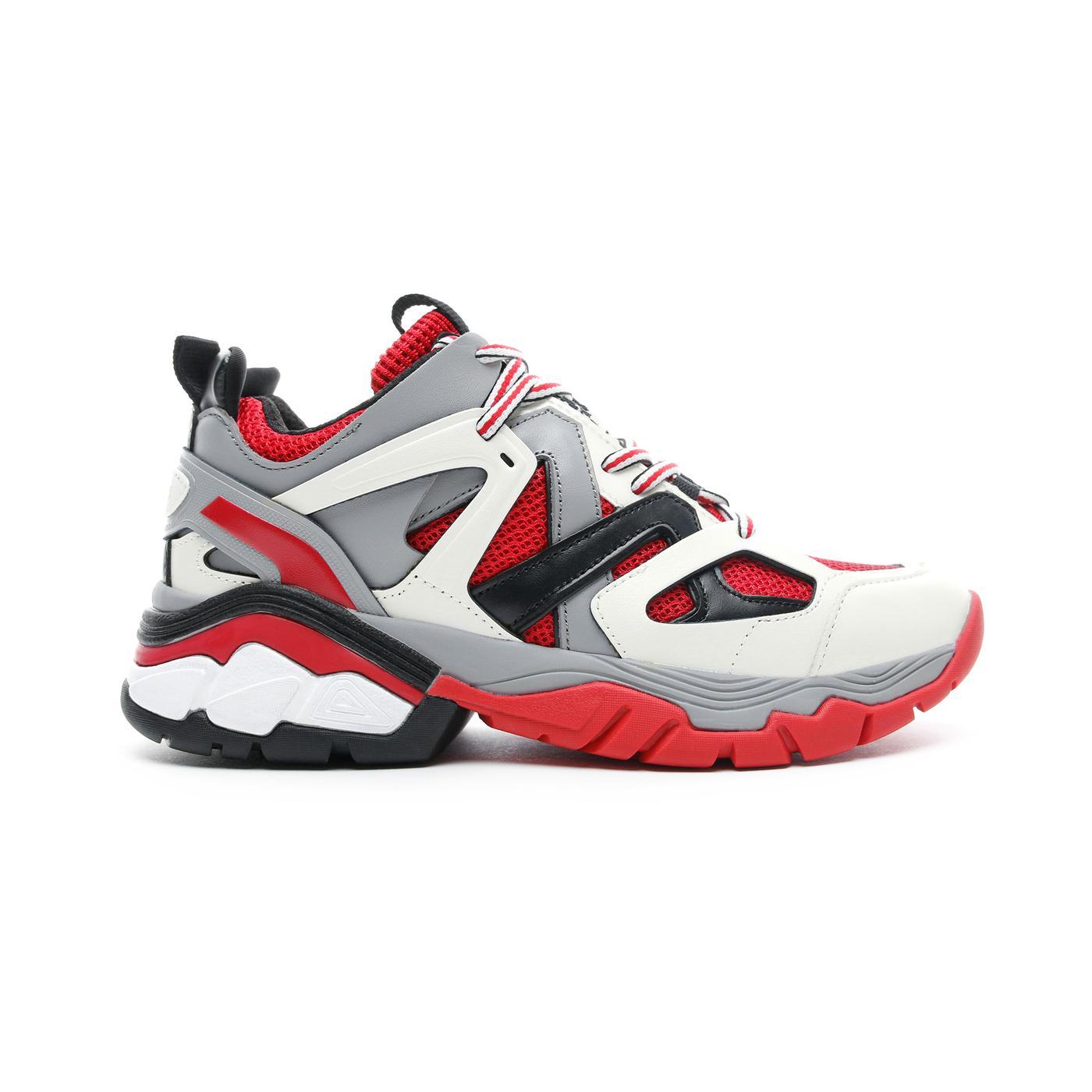 Guess Marles Beyaz - Kırmızı Kadın Spor Ayakkabı