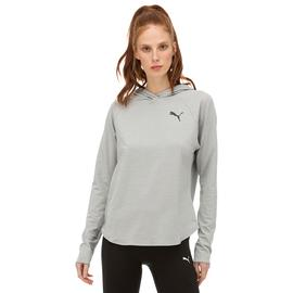 Puma Active Hoody Kadın Gri Sweatshirt