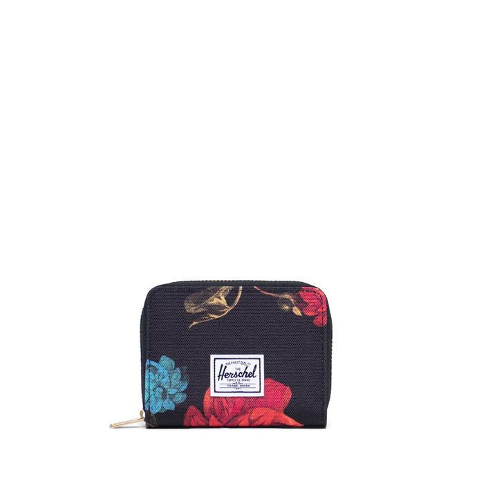 Herschel Tyler Vintage Floral Siyah Kadın Cüzdan