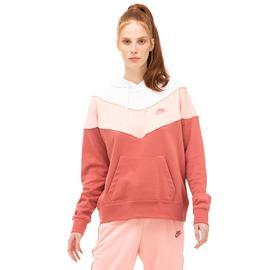 Nike Heritage Kadın Pembe Sweatshirt
