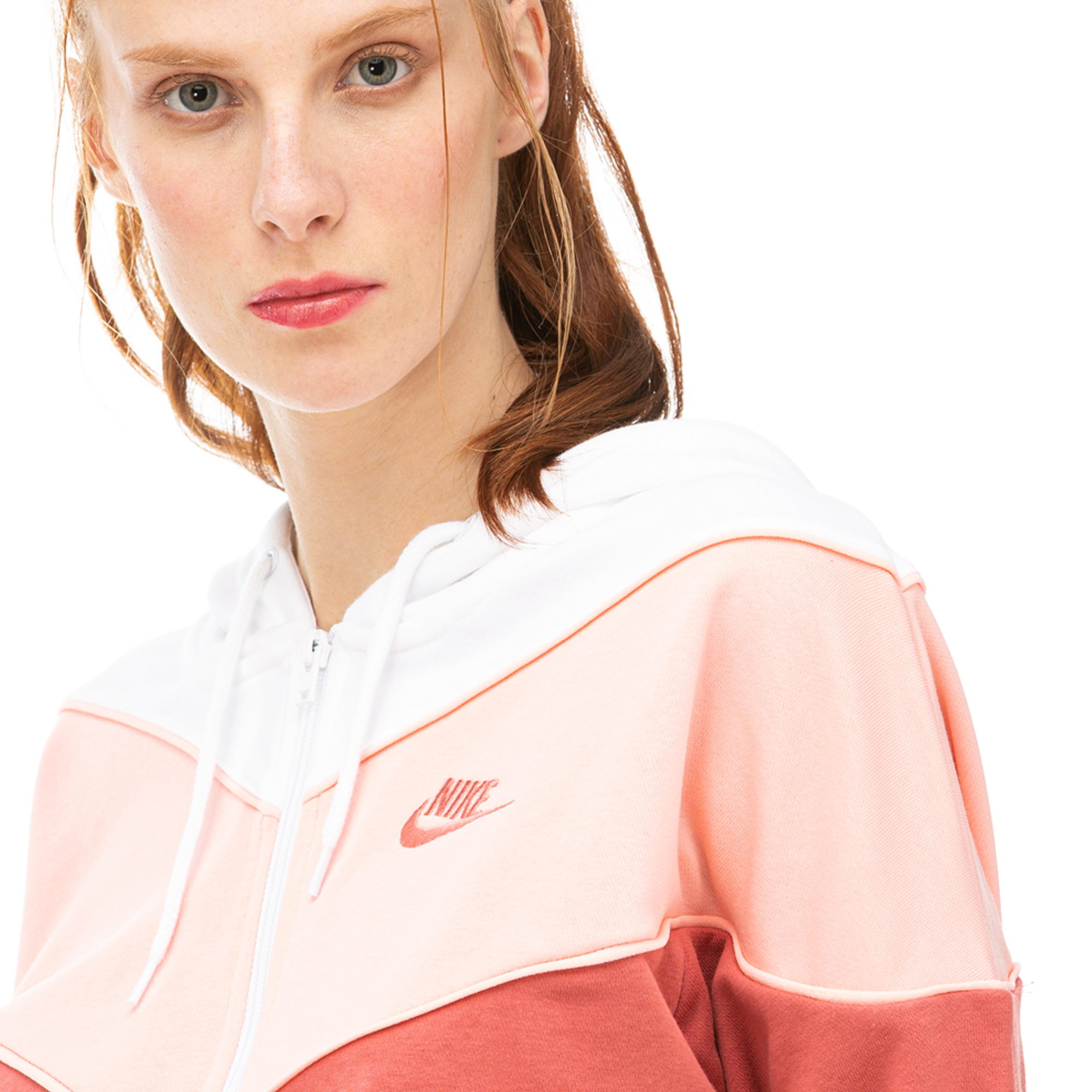 Nike Heritage Pembe Kadın Sweatshirt