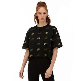 Nike Sportswear Siyah Kadın T-Shirt