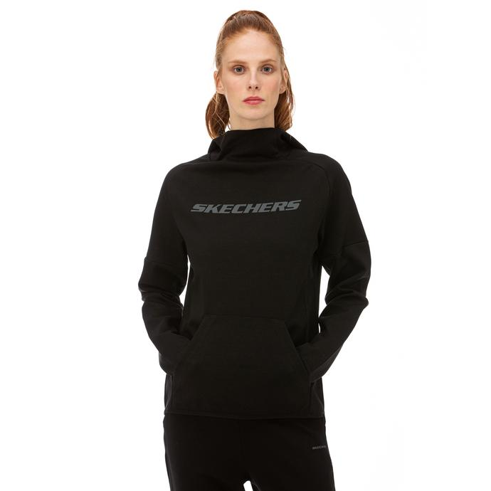 Skechers 2X I-Lock Siyah Kadın Sweatshirt