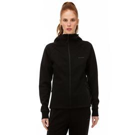 Skechers 2X I-Lock Siyah Kadın Fermuarlı Sweatshirt