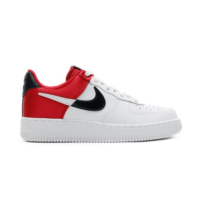 Nike Air Force 1 NBA Low Beyaz-Kırmızı Erkek Spor Ayakkabı