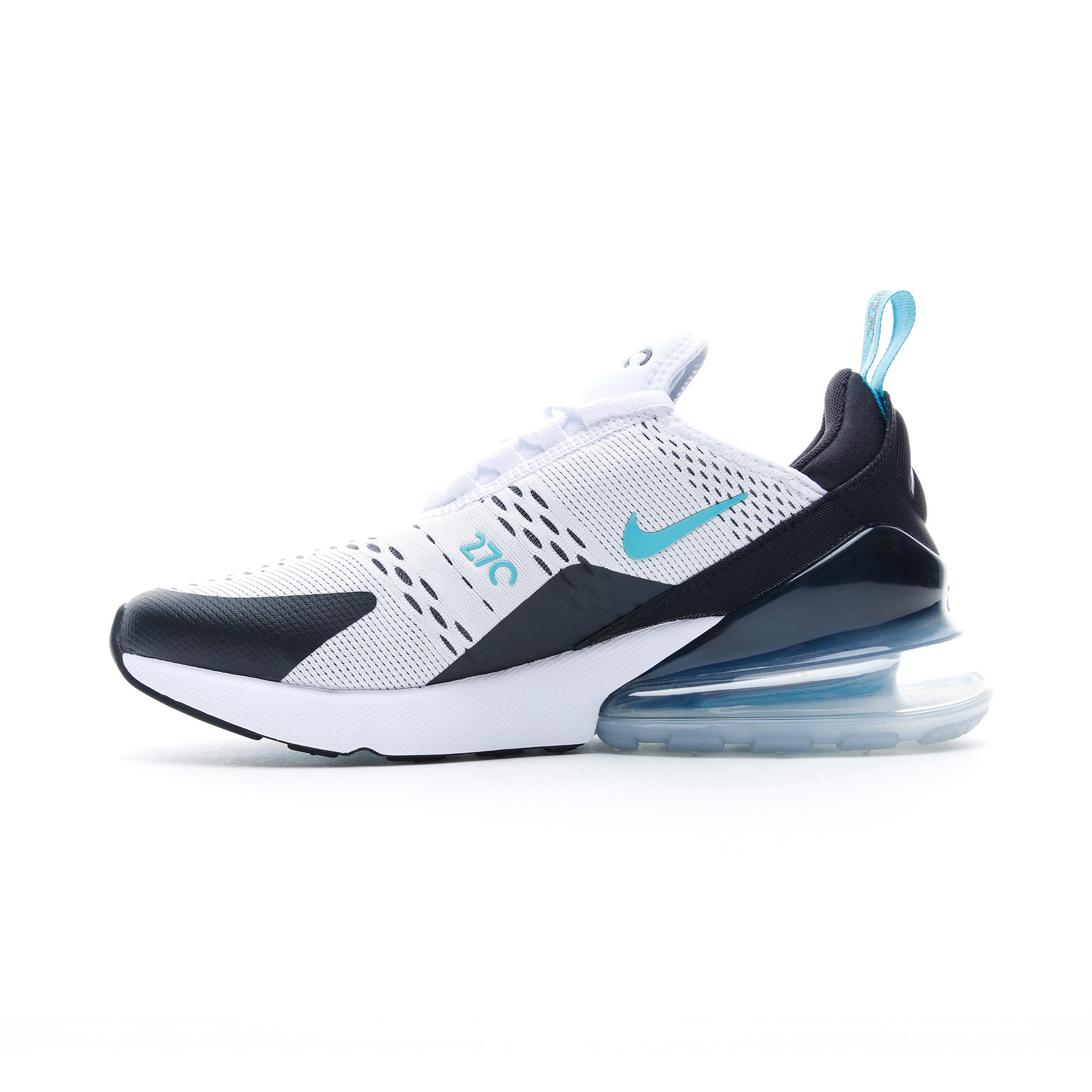 Nike Air Max 270 Beyaz - Siyah Erkek Spor Ayakkabı