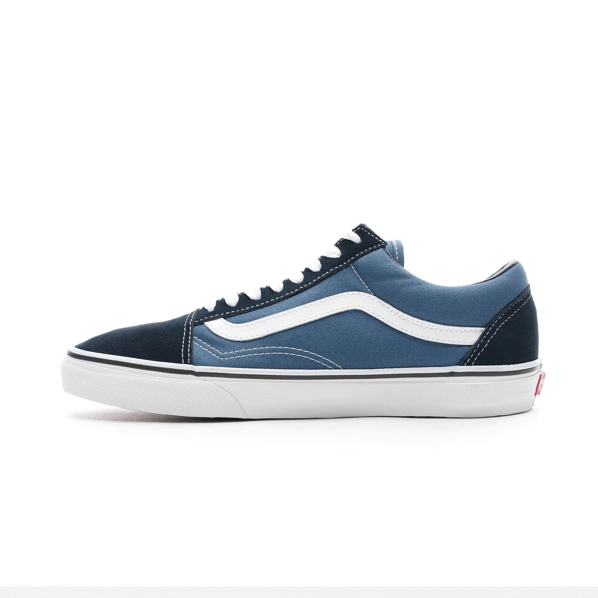 Vans Old Skool Mavi - Lacivert Unisex Sneaker