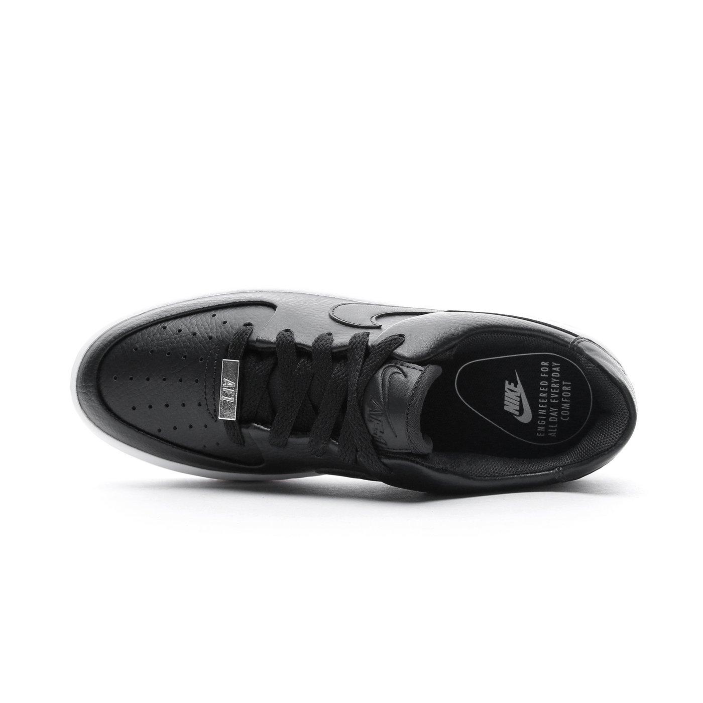 Nike Air Force 1 Sage Low Kadın Siyah Spor Ayakkabı