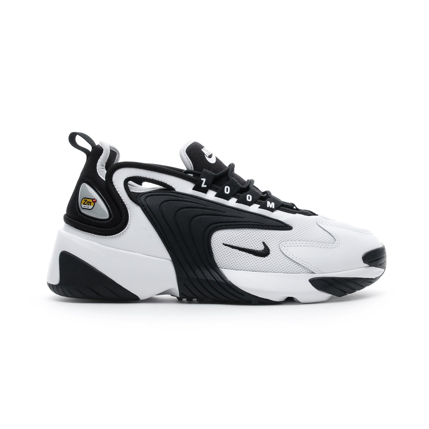 Nike Zoom 2K Kadın Beyaz-Siyah Spor Ayakkabı
