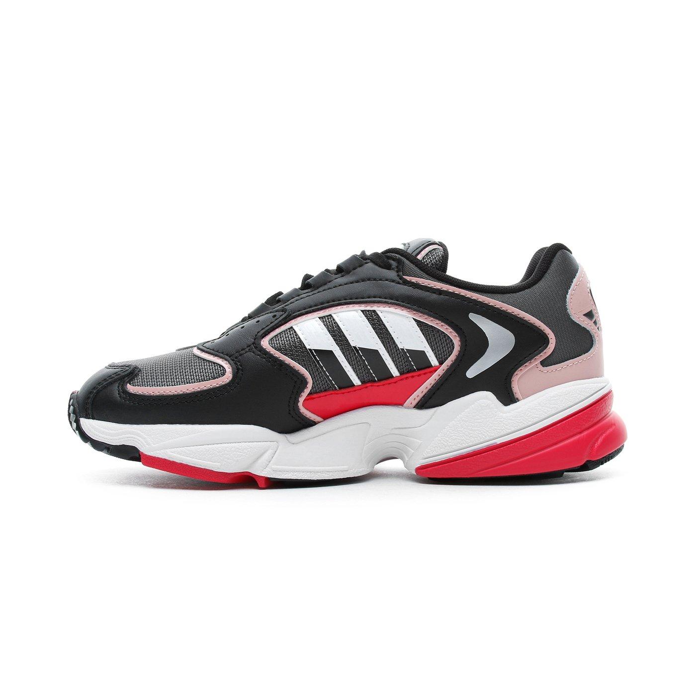 adidas Falcon 2000 Kadın Gri - Siyah Spor Ayakkabı