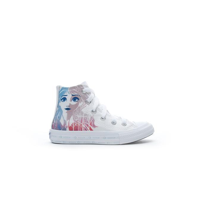 Converse x Frozen Chuck Taylor All Star Hi Çocuk Beyaz Sneaker