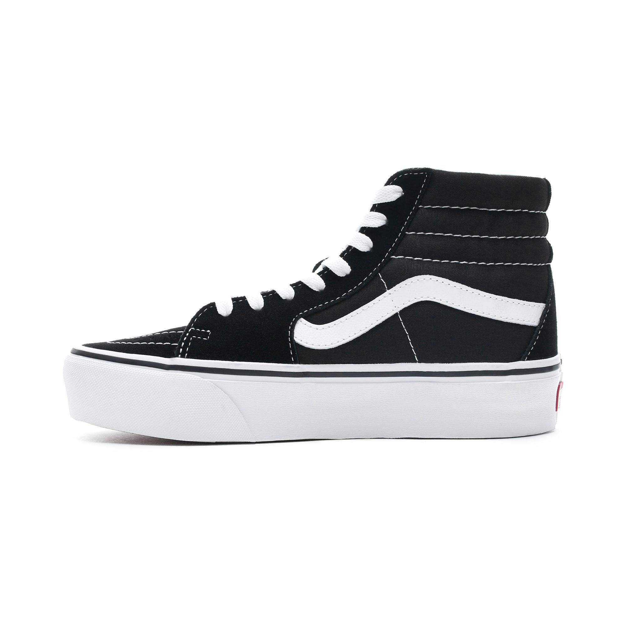 Vans Sk8-Hi Platform 2.0 Siyah Kadın Sneaker