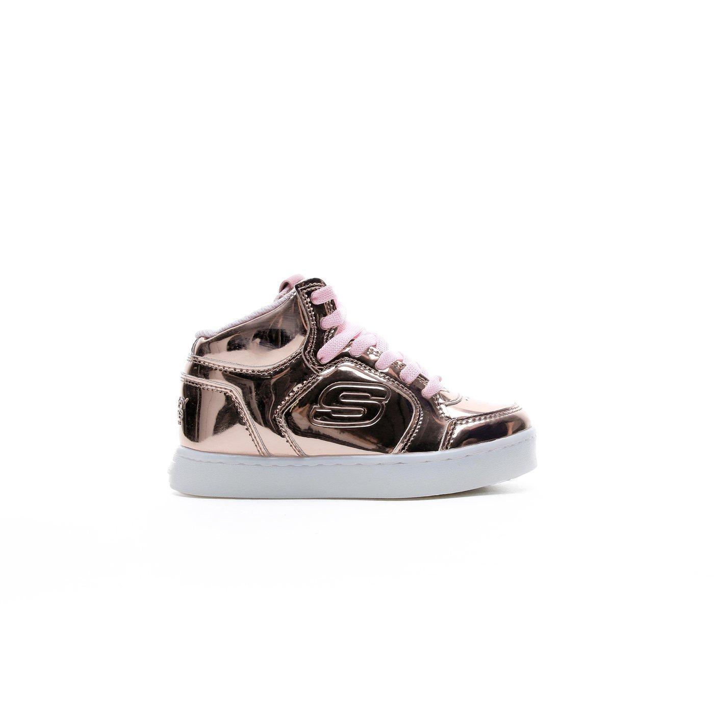 Skechers Energy Light Çocuk Altın Renkli Işıklı Spor Ayakkabı