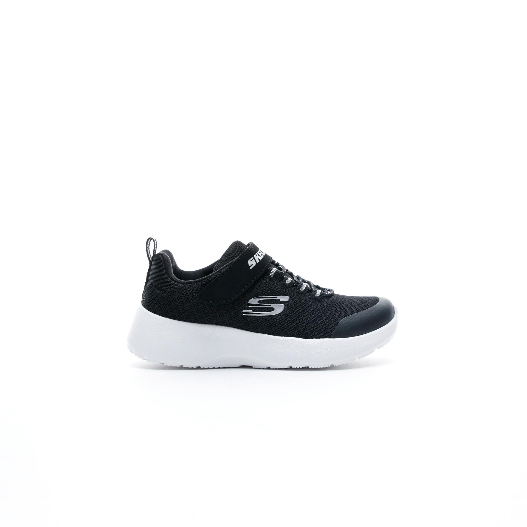 Skechers Dynamight Çocuk Siyah Spor Ayakkabı