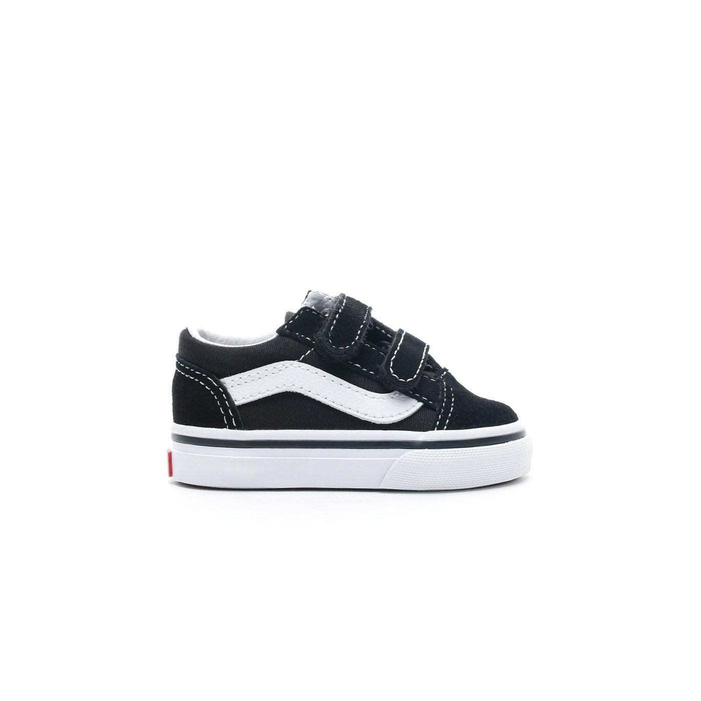 Vans Old Skool V Siyah Bebek Sneaker