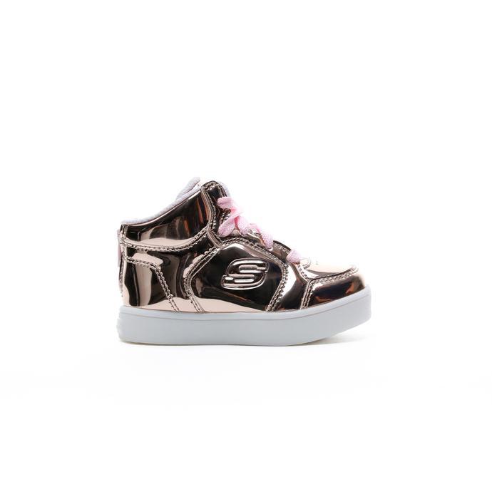 Skechers Energy Lights Kız Çocuk Metalik Işıklı Pembe Sneaker