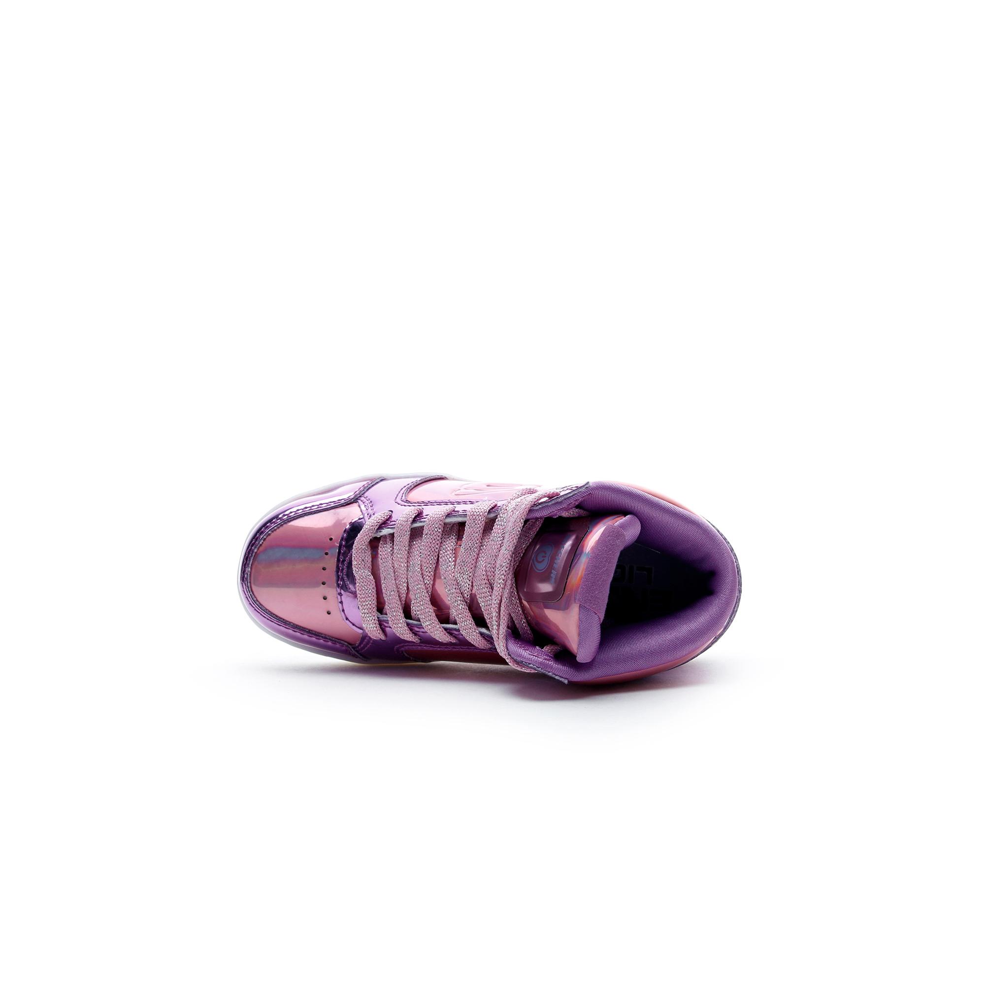 Skechers Energy Lights Kız Çocuk Işıklı Mor Ayakkabı