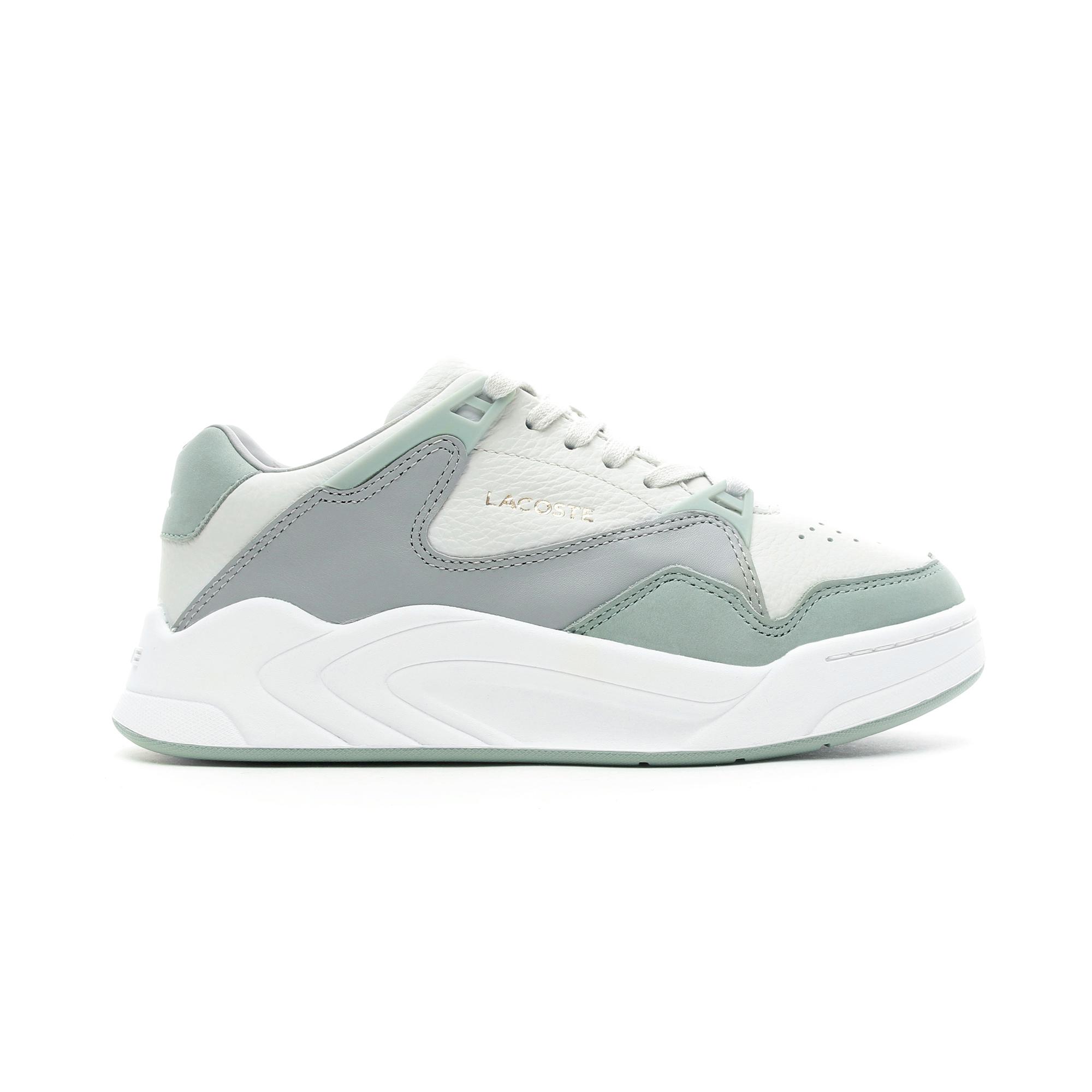 Lacoste Kadın Beyaz - Açık Yeşil Court Slam 219 1 Spor Ayakkabı