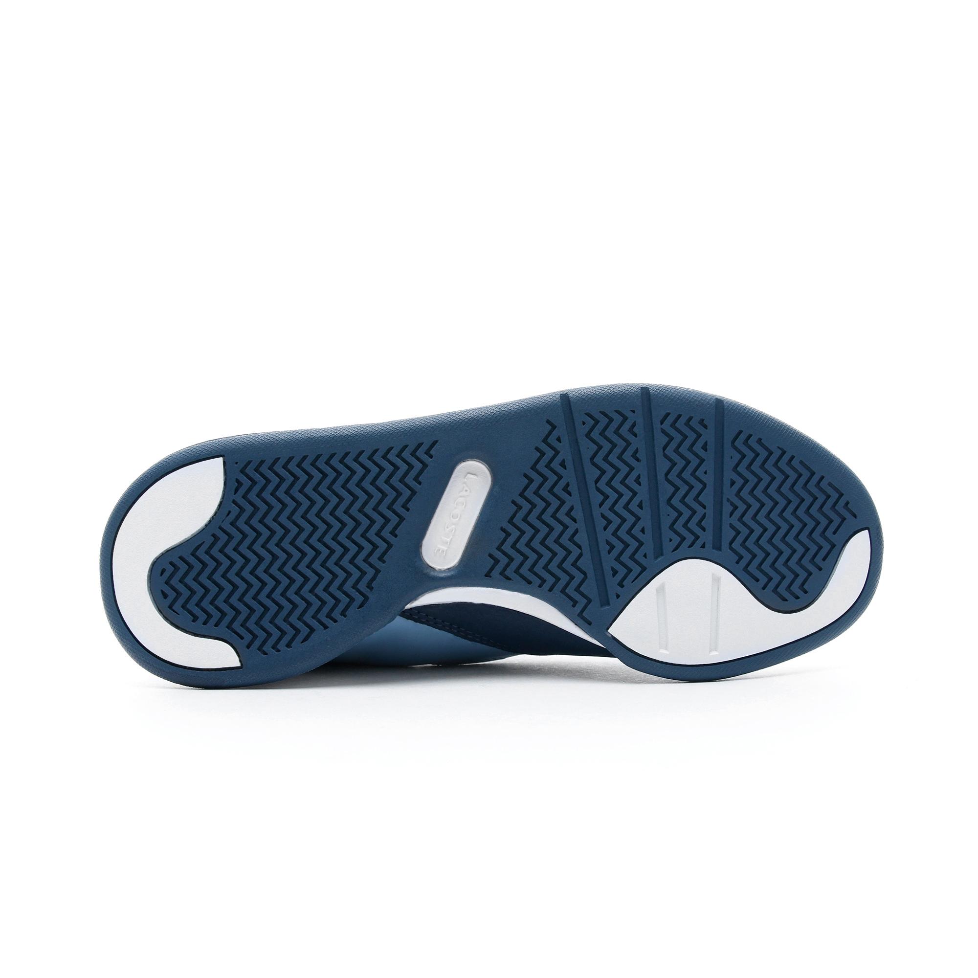 Lacoste Court Slam 219 1 Kadın Mavi Spor Ayakkabı