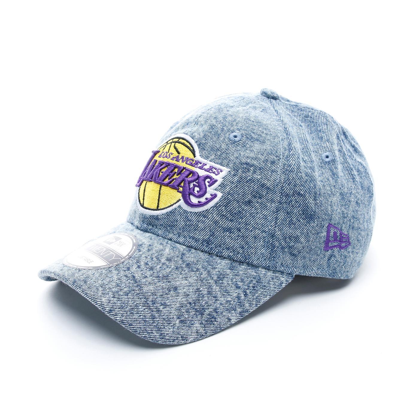 New Era NBA Los Angeles Lakers Dipped Denim Unisex Gri Şapka