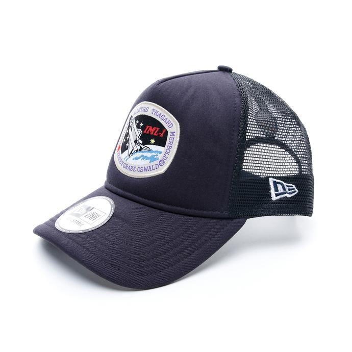 New Era International Space Archieves Trucker 9Forty Unisex Siyah Şapka