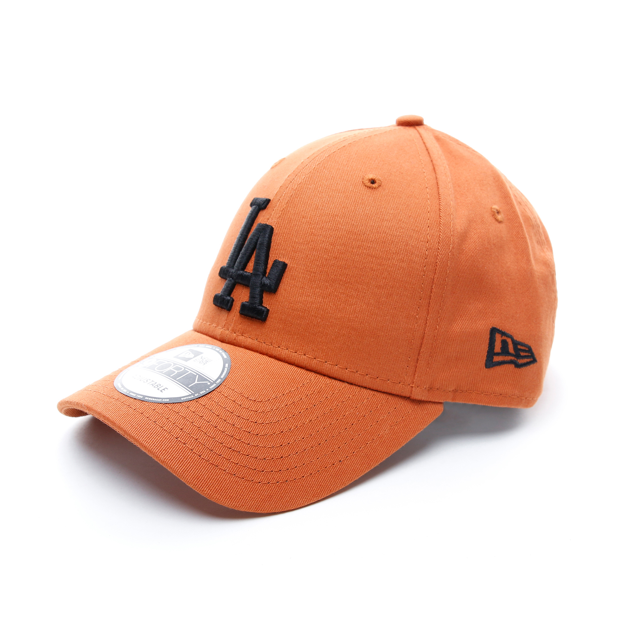 New Era Los Angeles Dodgers Essential Rust Trucker Unisex Turuncu Şapka