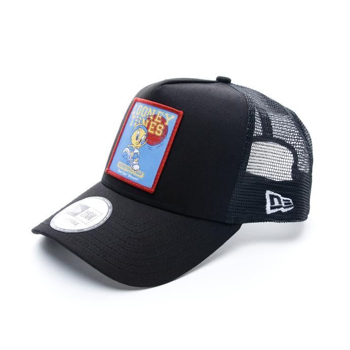 New Era Looney Tunes Tweety Trucker Unisex Siyah Şapka