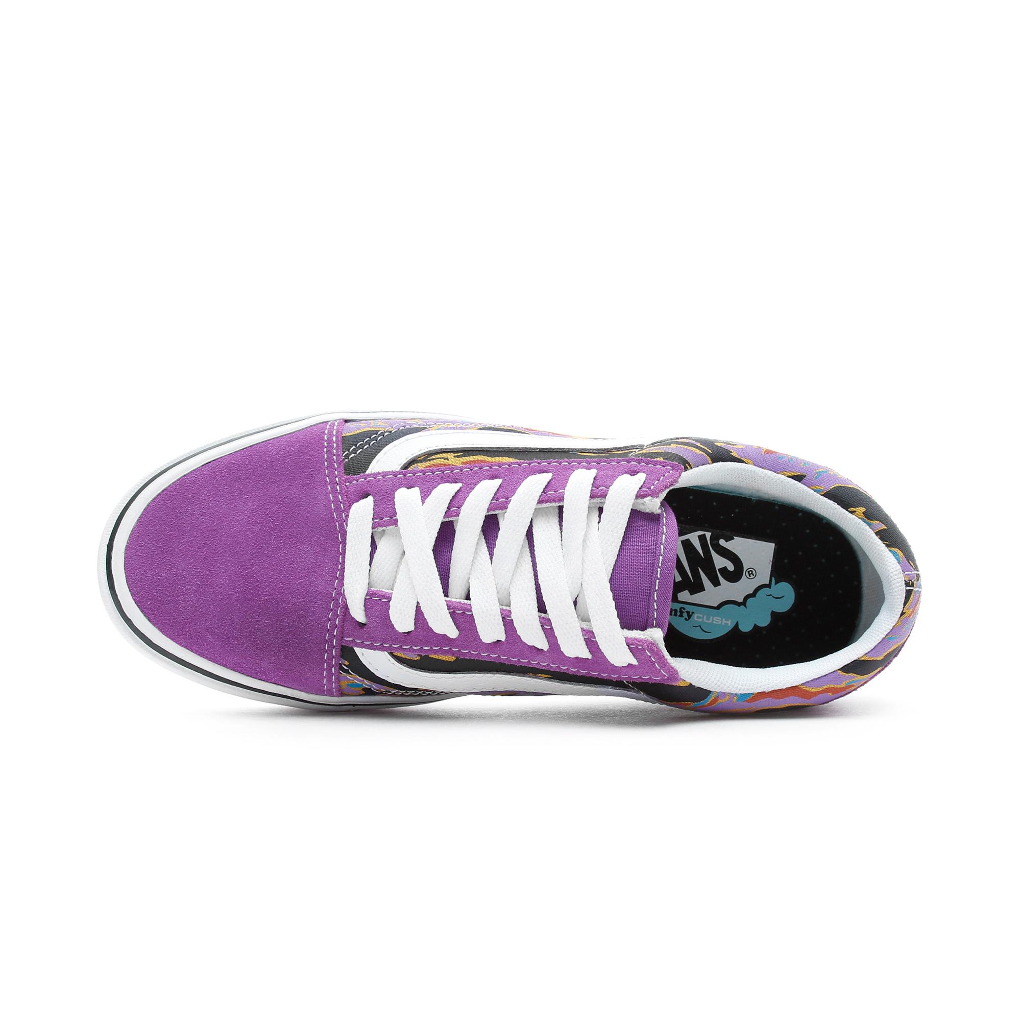 Vans ComfyCush Old Skool Kadın Mor Sneaker