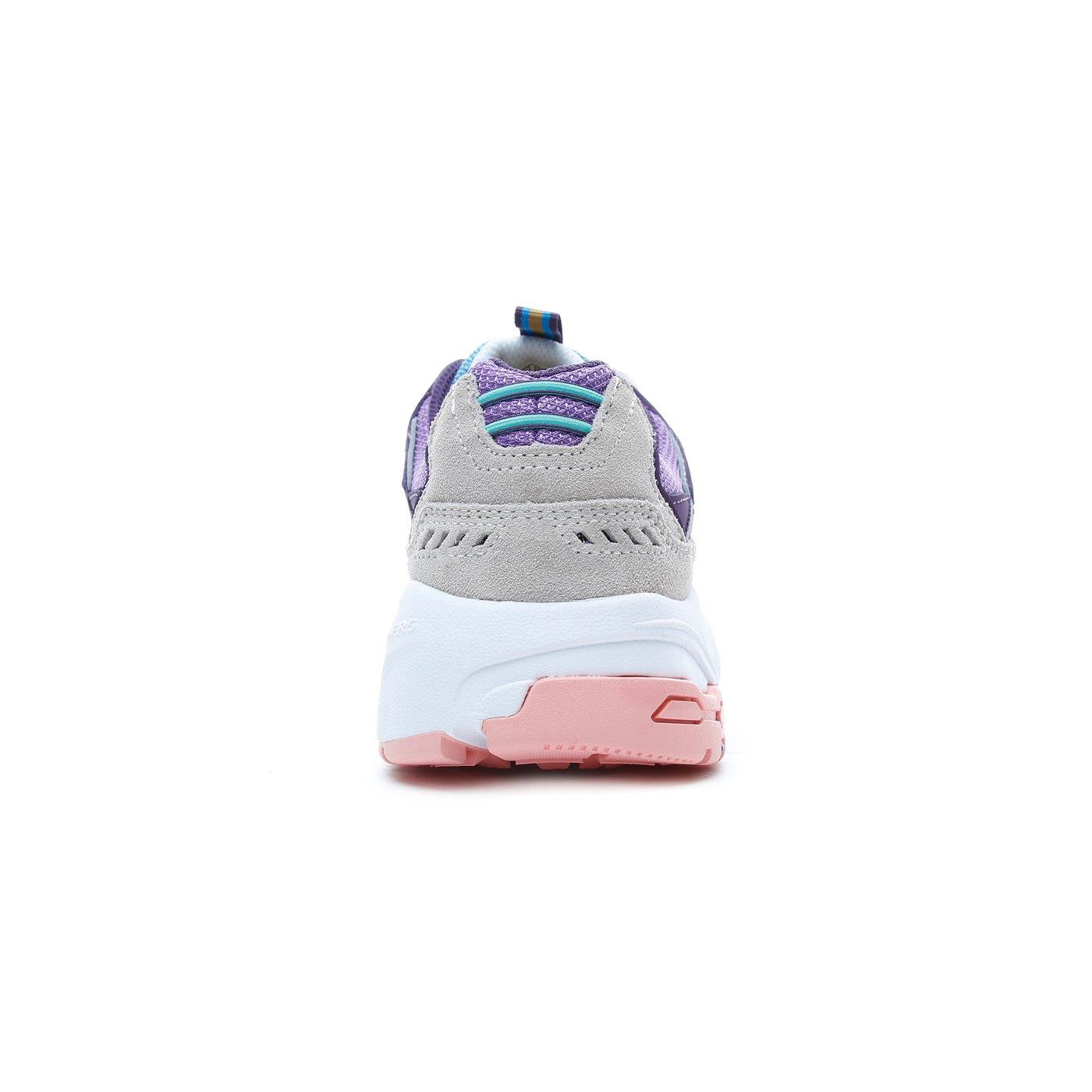 Skechers Stamina Gri-Mor Kadın Spor Ayakkabı