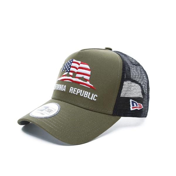 New Era Canvas California Unisex Yeşil Şapka