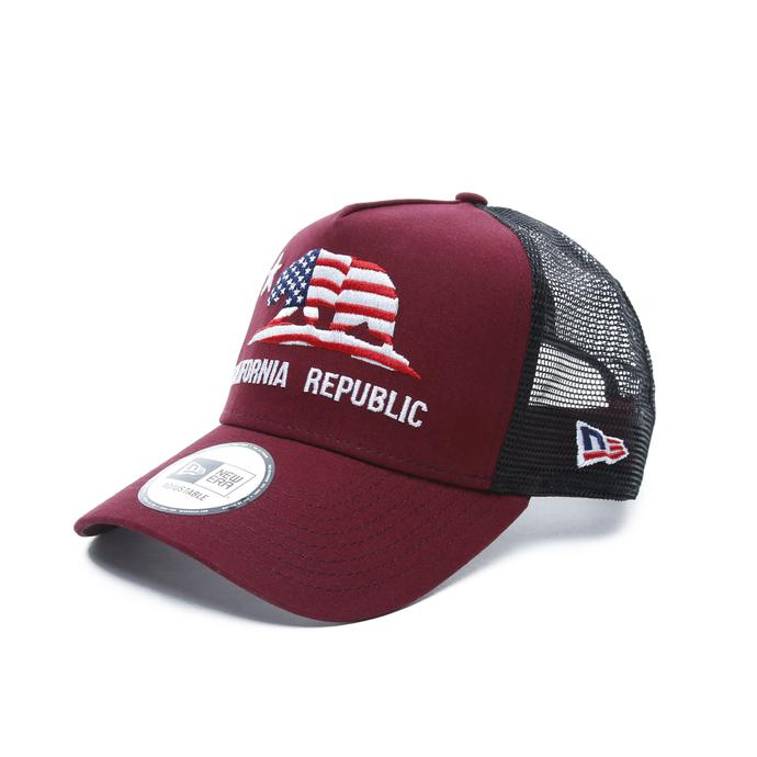 New Era Canvas California Unisex Bordo Şapka