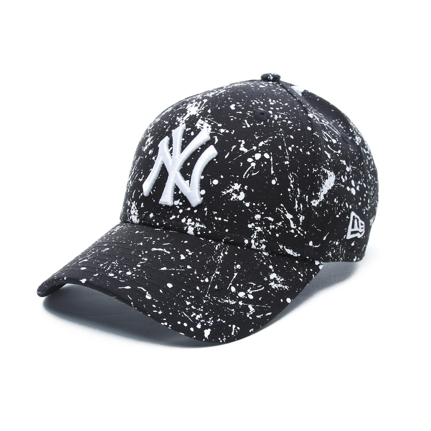 New Era Paint New York Yankees Unisex Siyah Şapka