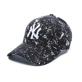New Era Paint New York Yankees Unisex Siyah Şapka