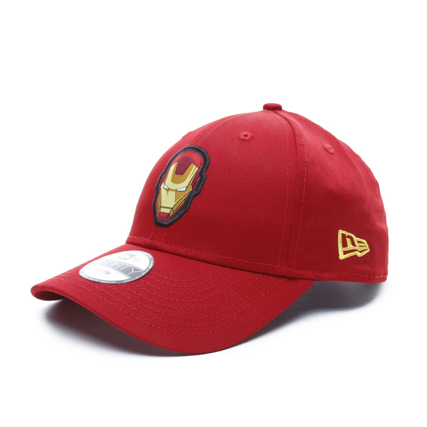 New Era Iron Man 9Forty Çocuk Kırmızı Şapka