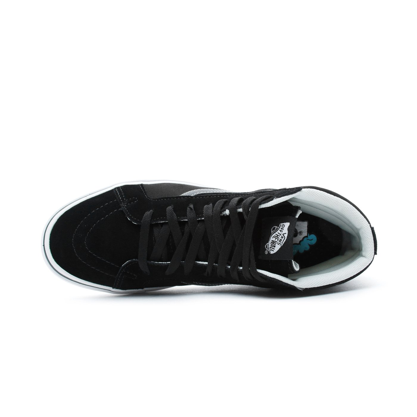 Vans ComfyCush Sk8-Hi Reissue Erkek Siyah Sneaker