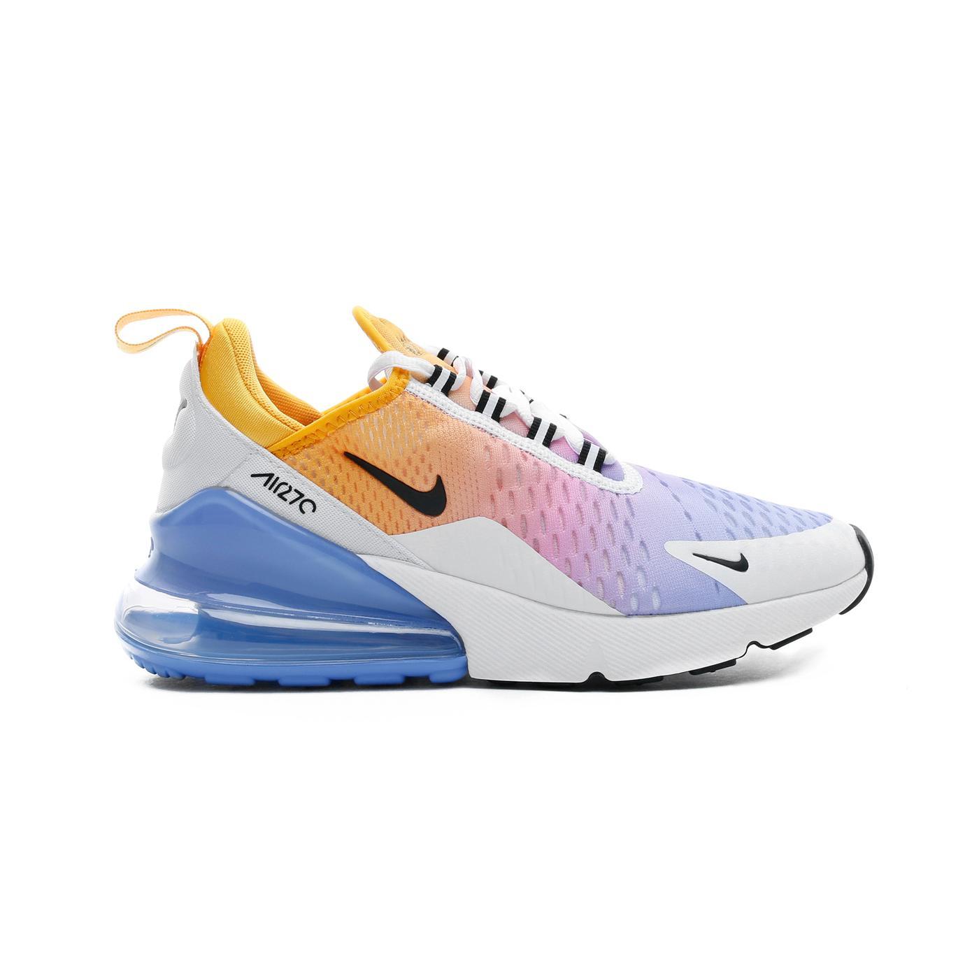 Nike Air Max 270 Sarı - Mavi Erkek Spor Ayakkabı