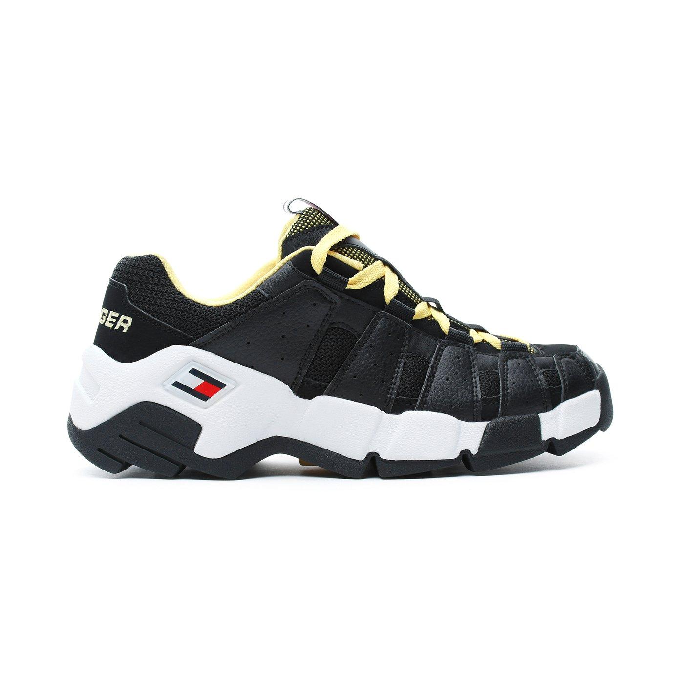 Tommy Hilfiger Heritage Chunky Erkek Siyah Spor Ayakkabı