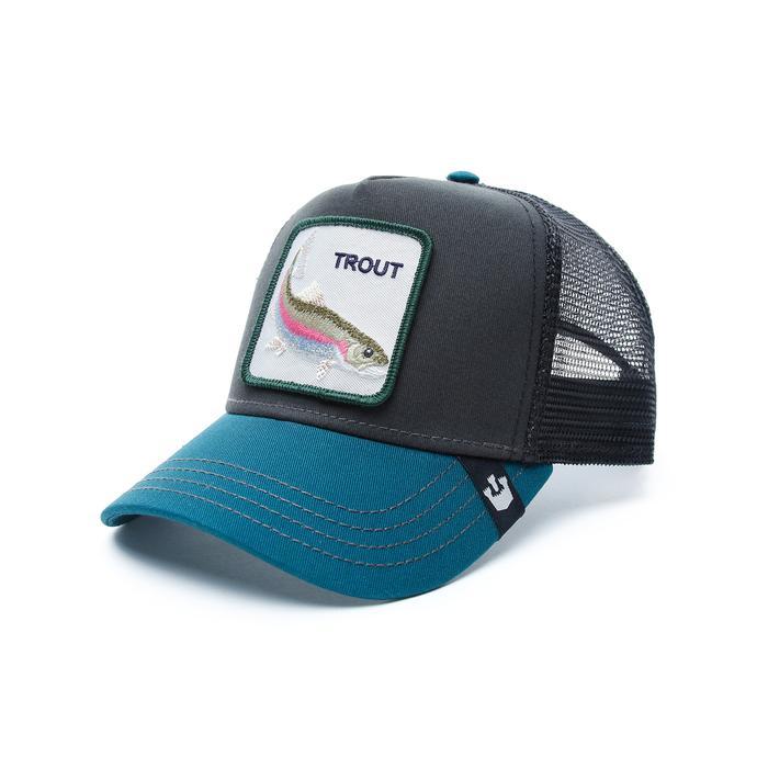 Gooring Bros Trout Unisex Siyah Şapka