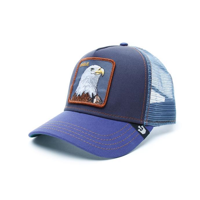 Gooring Bros Fyling Eagle Unisex Lacivert Şapka