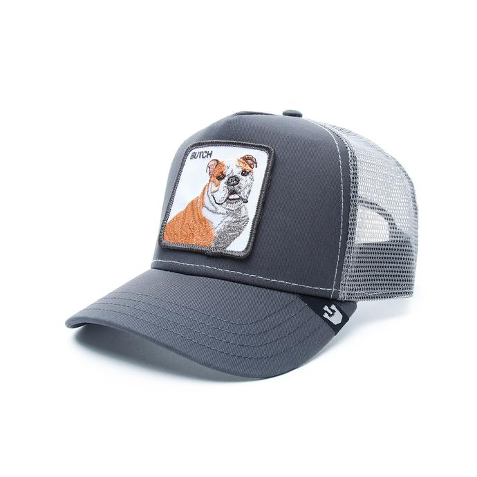 Gooring Bros Butch Unisex Gri Şapka