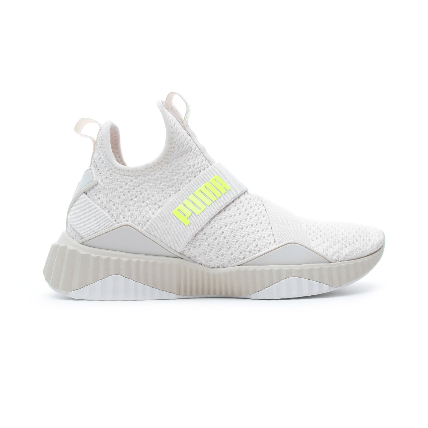 Puma Defy Mid Core Kadın Beyaz Spor Ayakkabı