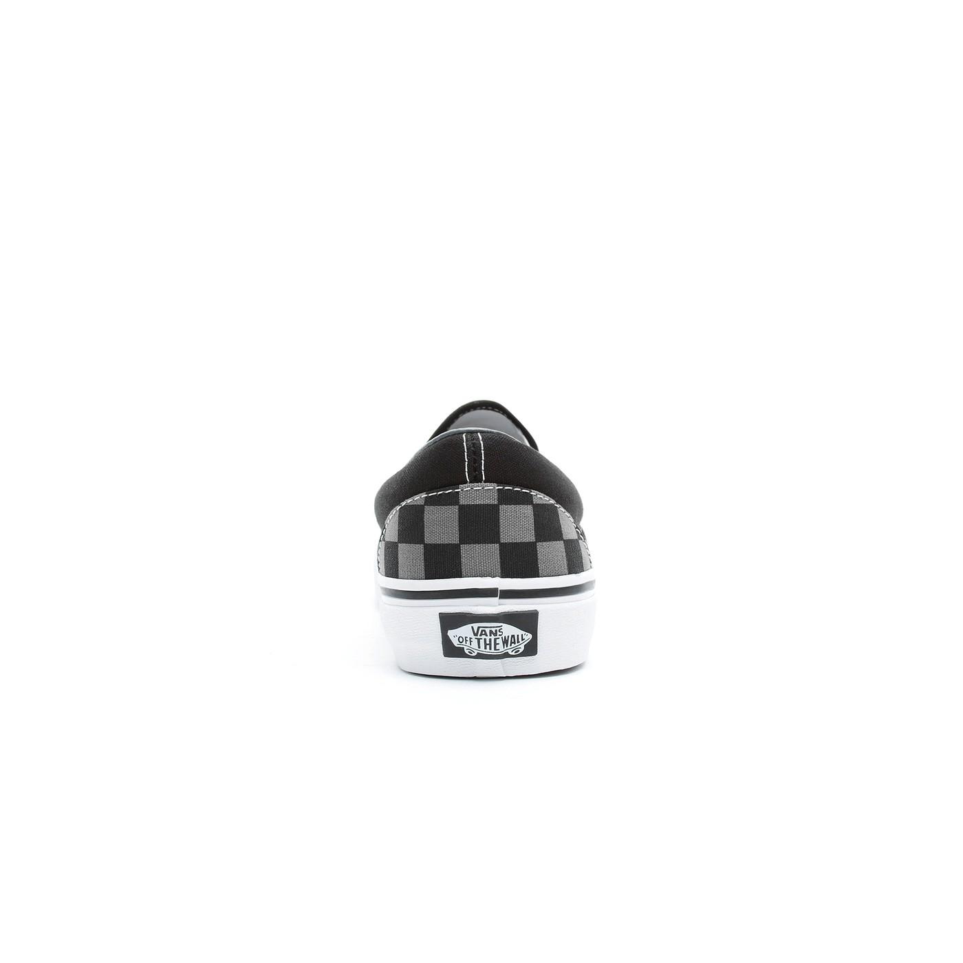 Vans Classic Slip-On Checkerboard Siyah Unisex Sneaker