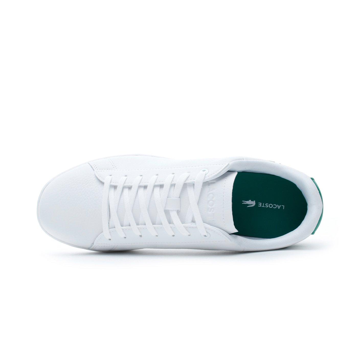 Lacoste Carnaby Evo Erkek Beyaz - Yeşil Spor Ayakkabı