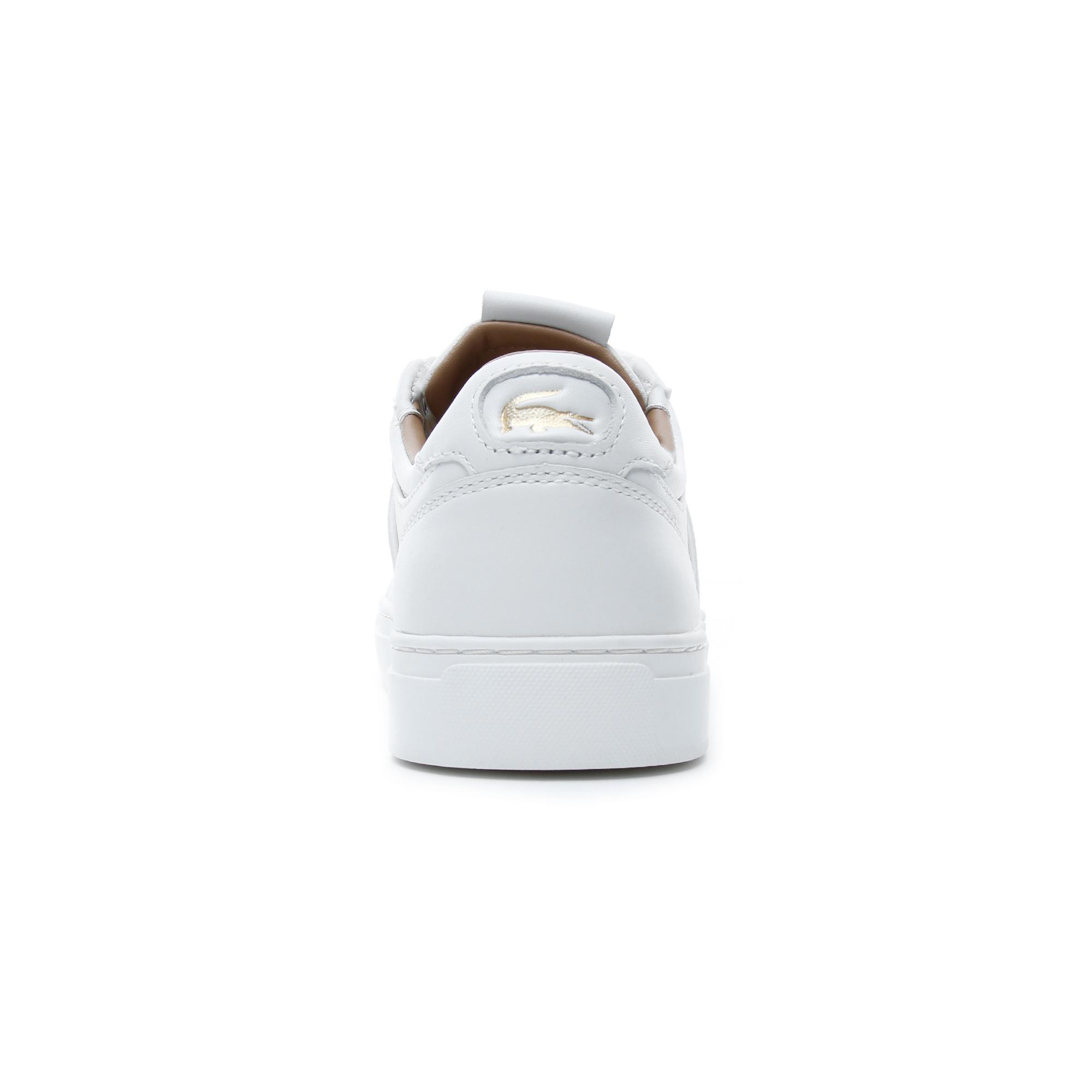 Lacoste Courtline Erkek Beyaz - Sarı Günlük Ayakkabı