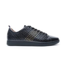 Lacoste Carnaby Evo Erkek Siyah - Sarı Günlük Ayakkabı