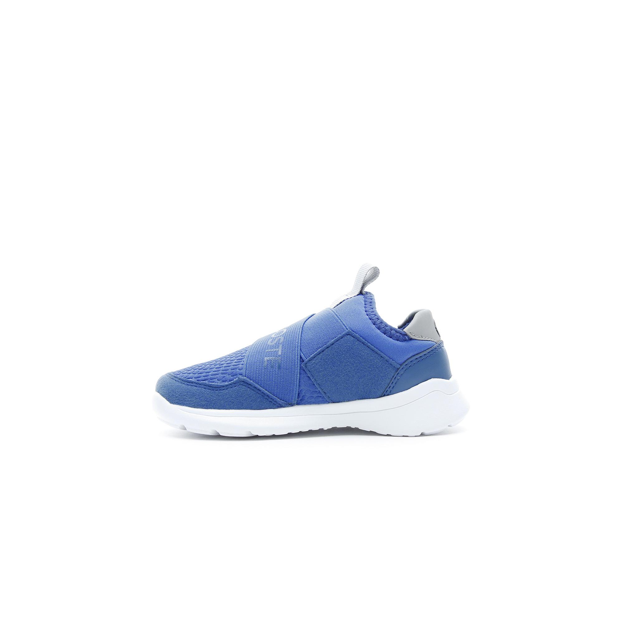 Lacoste Lt Dash Slip Çocuk Mavi - Gri Spor Ayakkabı