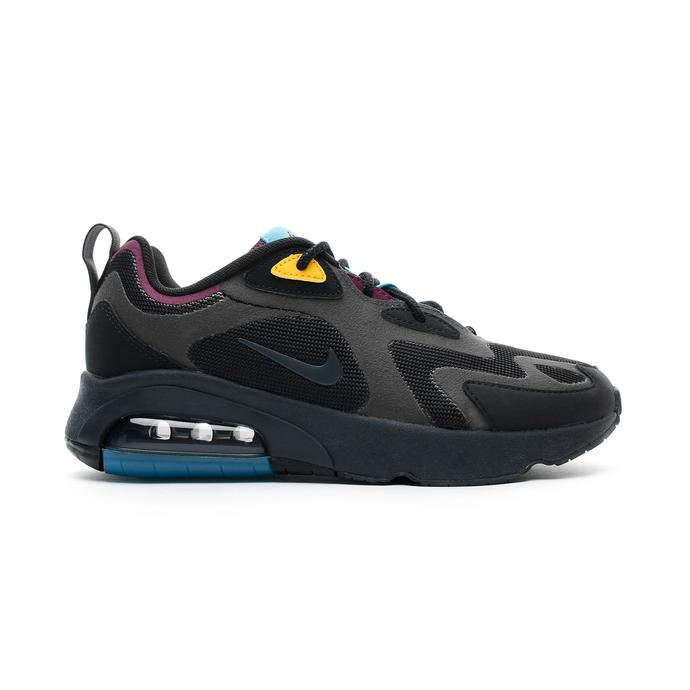 Nike Air Max 200 Siyah Unisex Spor Ayakkabı