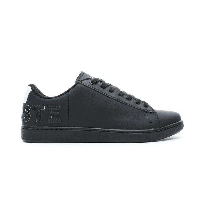 Lacoste Carnaby Evo Erkek Siyah - Beyaz Spor Ayakkabı
