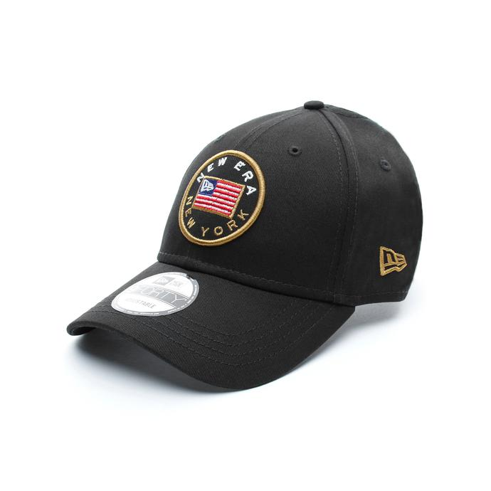 New Era USA Flagged Unisex Siyah Şapka